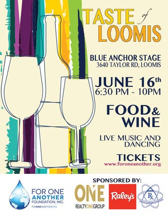 Taste of Loomis Flyer 2017
